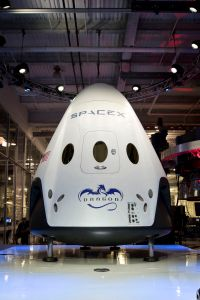 SpaceX Dragon V2 spacecraft
